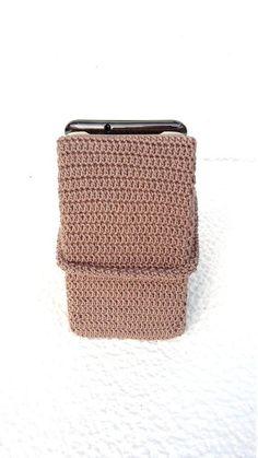 e77fc3c08cb4 Crochet phone holder for desk is nice Valentine s Day Gift for all