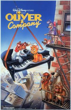 Once upon a time in New York City, a lovable cat found a home in our hearts. Happy 28th Anniversary to Oliver & Company! #movies #topmovies #gameofthrones #harrypotter #starwars #startrek #aliceinwonderland