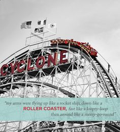 coney island cyclone roller coaster