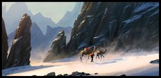 """""""The Journey"""" by Raphael Lacoste    http://fc04.deviantart.net/fs71/f/2011/037/1/0/the_journey_by_raphael_lacoste-d38zg9x.jpg"""