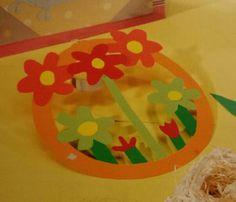 3d knutsel: bloemen raamhanger