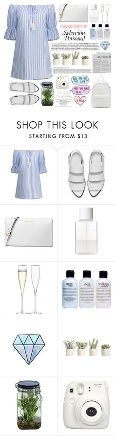 """You hit me up at 3 A.M. on a Friday night"" by itaylorswift13 ❤ liked on Polyvore featuring Alexander Wang, Michael Kors, SUQQU, LSA International, philosophy, Unicorn Lashes, Allstate Floral, Alöe, Fujifilm and Joshua's"