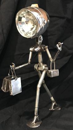 scrap metal art projects – metal of life Welding Art Projects, Metal Art Projects, Metal Crafts, Diy Projects, Metal Sculpture Artists, Steel Sculpture, Sculpture Ideas, Art Sculptures, Metal Tree Wall Art