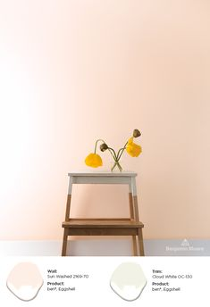 404 Error A pale pink paint color can be a versatile option in interior design. By painting your wal Peach Rooms, Peach Bedroom, Peach Walls, Orange Walls, Pink Walls, Peach Paint Colors, Wall Paint Colors, Paint Colors For Home, Bedroom Wall Colors
