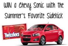WIN a Chevy Sonic with the Summer's Favorite Sidekick