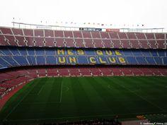 """Am vizitat stadionul Camp Nou, unde suporterii Barçei isi sustin echipa FC Barcelona, simbolul fotbalului European.  Clubul FC Barcelona este """"Mes que un club"""" si are o istorie impresio…"""