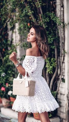 3ae479111a05 White Lace Dresses, White Summer Dresses, White Dress Casual, White Lace  Mini Dress
