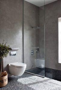 Microcemento en paredes de baños