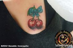 ... in cherry tattoos leave a comment fantastic cherries tattoo design