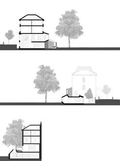 Alison Brooks Architects _ Lens House _ Sections 1