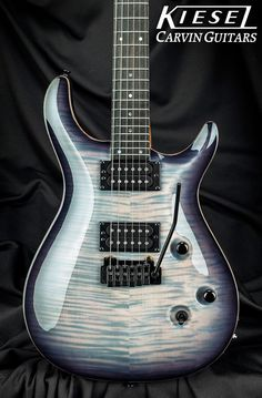 Kiesel Guitars Carvin Guitars CT624. Trans-White