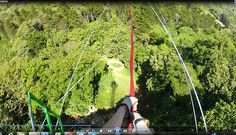 Costa Rica, Monte Verde.  Tarzan swing. Ready to jump 50 mt down.  100% adrenaline!  The little gate gets opened, 1-2....  Read more on our blog at http://www.livingthedreamincostarica.com/blog/monteverde-pure-adrenaline and follow us on Facebook at www.facebook.com/LivingInCostaRica and watch the video on http://youtu.be/3KwuuSactTM