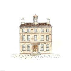 250. Bell House | Rebecca Horne, illustration