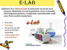 It takes care of business, enables you to keep total control over your leakage, helps make healthy relations, brand value & enhance your technical skills. e-Lab is a very simple software to operate.  No need to learn.  no need for any training of computers.   In Elab software we can feed the patient results very fast more fast. @ashishjoshi19 #software #bestsoftware