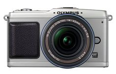 Olympus PEN E-P1 12 MP Micro Four Thirds Interchangeable Lens Digital Camera with 14-42mm f/3.5-5.6 Zuiko Digital Zoom Lens (Silver Body/Black Lens) Sale - http://mydailypromo.com/olympus-pen-e-p1-12-mp-micro-four-thirds-interchangeable-lens-digital-camera-with-14-42mm-f3-5-5-6-zuiko-digital-zoom-lens-silver-bodyblack-lens-sale.html