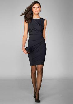 Šaty s ozdobnými kamienkami a nariasením #ModinoSK Dresses, Fashion, Nice Asses, Vestidos, Moda, Fashion Styles, Dress, Fashion Illustrations, Gown