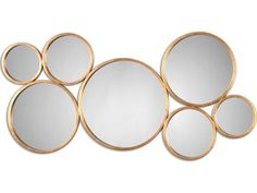 Stunning Useful Ideas: Leaning Wall Mirror Interior Design wall mirror collage stairs.Wall Mirror With Storage Doors oval wall mirror gardens. Circular Mirror, Metal Mirror, Round Wall Mirror, Wall Mounted Mirror, Round Mirrors, Floor Mirrors, Gold Circle Mirror, Mirror Hanging, Sunburst Mirror