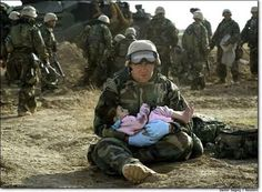 compassion || Our troops are warriors, but they are not heartless....