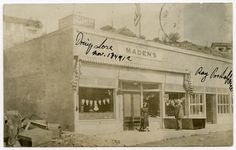 1912 Ray  drugstore