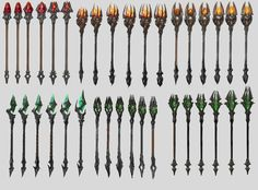 ArtStation - MAGIC STAFF, Sergey Tsimmer