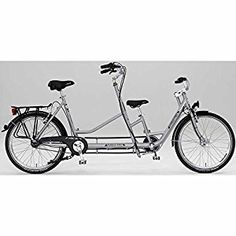 Amazon.com : PFIFF Compagno 26 inch Tandem Bicycle : Sports & Outdoors