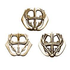 Form variations, Regiment Stoottroepen Prins Bernhard