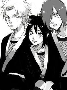 Nagato, Konan and Yahiko