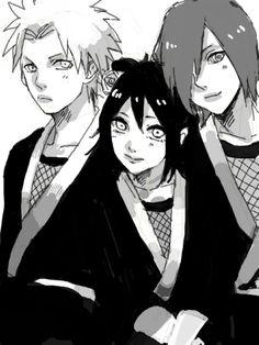 Nagato, Konan and Yahiko