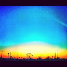 WOS Team member Derek snapped this #sunset photo outside of #ATA2013.