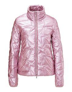 Glänzende Steppjacke, rosenquarz, rosa | MADELEINE Mode