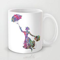 Mary Poppins Silhouette Walt Disney