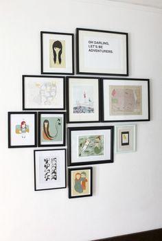 Домашняя галерея картин и рисунков