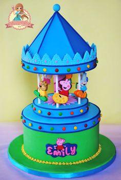 PEPPA PIG'S CAROUSEL CAKE