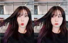 Somi new hair color