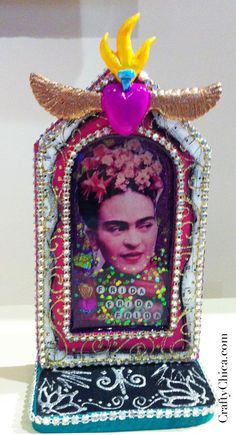 Diary of a Crafty Chica: Pictures from our Phoenix Fridas show! #phoenix #chandler #frida #shrine