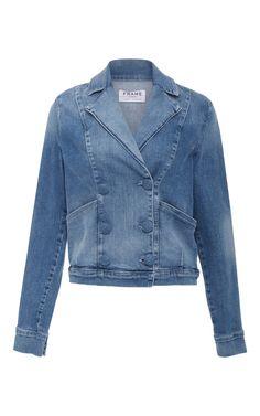 219f4afedf0e6 FRAME Le Crop Denim Jacket.  frame  cloth  jacket Cropped Denim Jacket