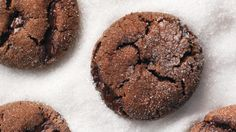A combination of fresh and ground ginger, molasses, and chunks of semisweet chocolate makes the cookies sophisticated enough for adults but chocolaty enough for children.