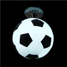 Ceiling Lights - Flush Mount - Modern Semi Flush Mount in football Feature