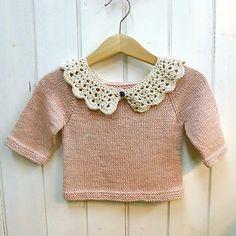 Crochet Peter Pan Collar Tutorial by Emma Escott. From Ravelry.com