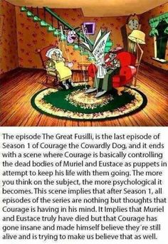 Courage The Cowardly Dog Real Story : courage, cowardly, story, Courage, Cowardly, Ideas, Courage,, Cartoon, Network,