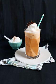 Thai Tea Frappe Recipe