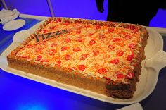 Is it a pizza? Is it a cake? It's pizzacake to celebrate our new Teenage Mutant Ninja turtles game!