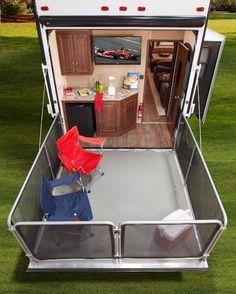 caravan storage ideas 726064771155655318 - Smart Wheel Storage Hack Most Inspiring Source by blessedecor Enclosed Trailer Camper, Cargo Trailer Camper Conversion, Toy Hauler Camper, Cargo Trailers, Camper Trailers, Utility Trailer Camper, Motorhome, Fifth Wheel Trailers, Rv Homes