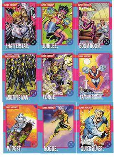 X-Men Trading Cards