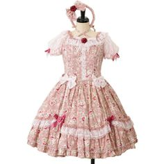 Angelic pretty アンジェリックプリティ (64 AUD) ❤ liked on Polyvore featuring dresses