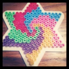 Star hama beads by sophieolding