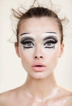 fashion halloween makeup - Pesquisa Google