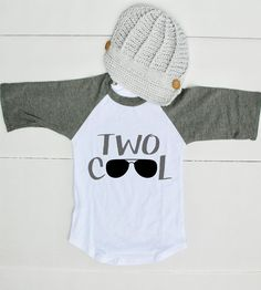 This 2nd Birthday Outfit is too cute to get your little boy ready for his big birthday! Your little one will get oohs and ahhs with this adorable toddler raglan! PLEASE BE AWARE: Some products may con