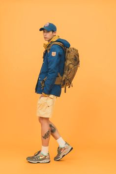 White Rock Store displays their current selections with a new editorial — eye_C Human Poses Reference, Pose Reference Photo, Climbing Outfits, Climbing Pants, Look Man, Hiking Fashion, Poses References, Body Poses, Fashion Poses