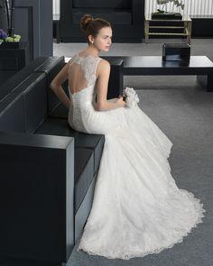 109 8A1A1 RUTH - Vestido de Novia - Rosa Clará